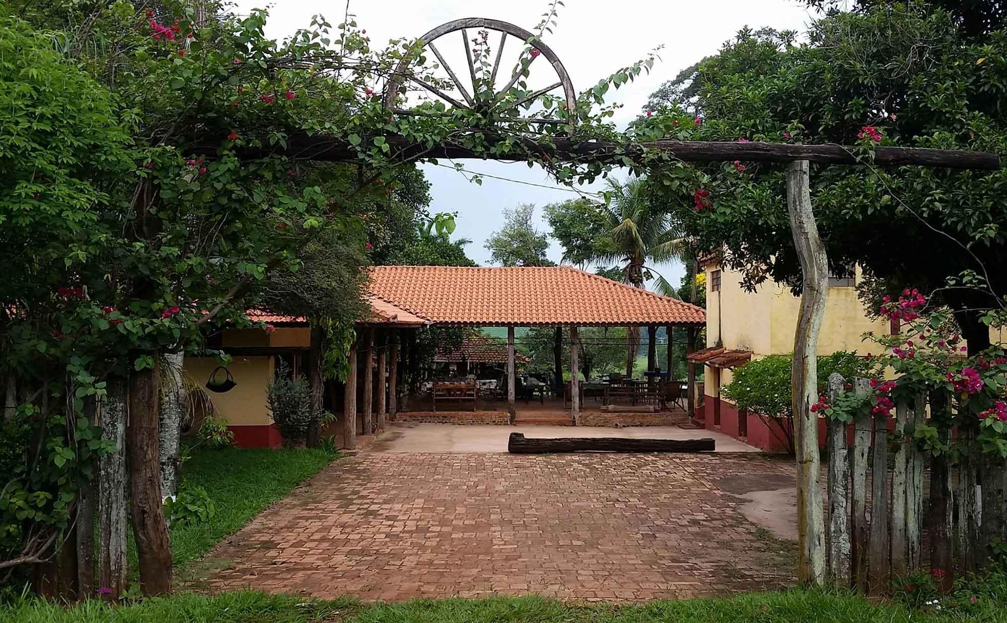 Fazenda Voltinha - Entrada do Restaurante